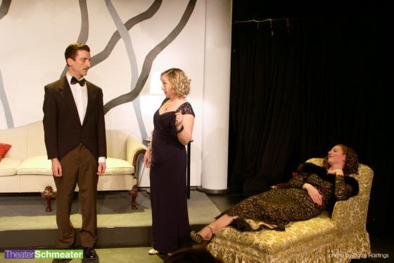 Pictured: Eric Smiley, Teri Lazzara, Sarah Karnes